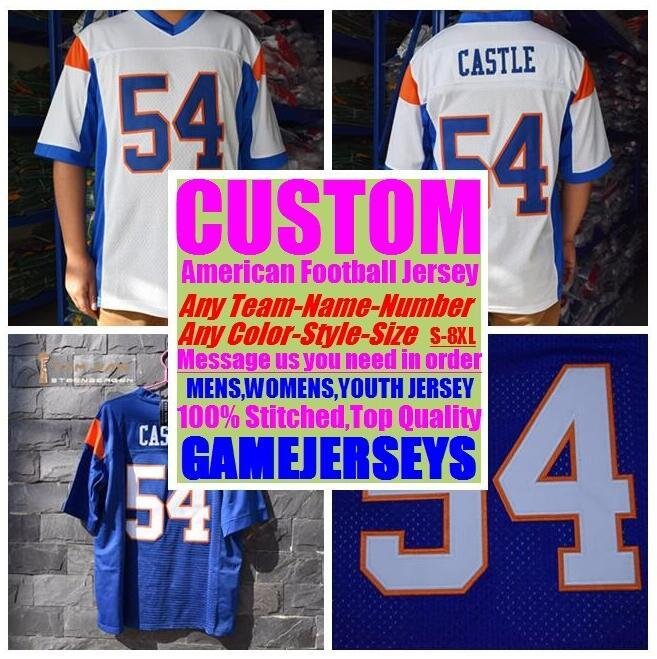 superior quality 7dfbc d5ffe Custom american Football Jerseys College cheap authentic hot sale discount  sports jersey stitched mens womens youth kids 4xl 5xl 6xl 7xl