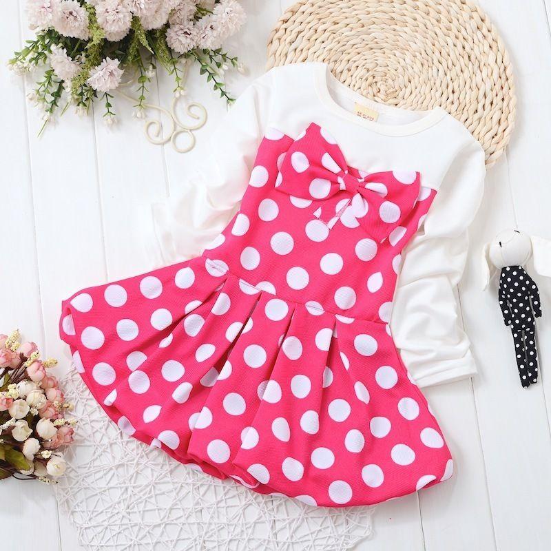 e286f511f95 2019 BibiCola Baby Dresses Summer Kids Baby Girls Dress Casual Stripe Baby  Girl Clothes For Newborns Retail Vestido De Bebe Dress From Cynthia04