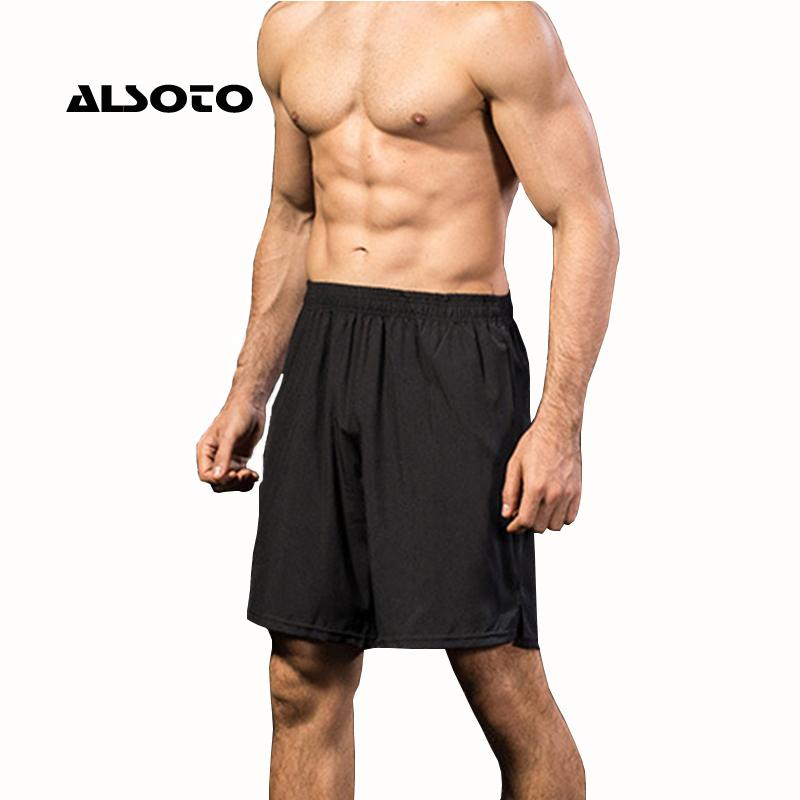 2019 Mens Shorts Running Gym Spandex Shorts Men Quick Dry Workout Sports  Jogging Pocket Tennis Training From Noteest 1e78b97445ab