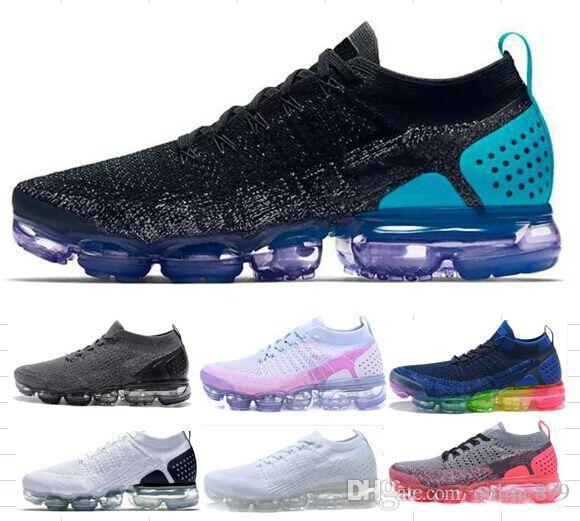 e88c13cdb1c New 2018 Running Shoes Air Cushion Men Women Outdoor Run Shoe White ...