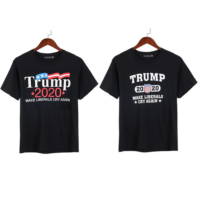 91e7c1ede Donald Trump 2020 T-shirt MAKE LIBERALS CRY AGAIN T-shirt Casual Sports  Short Sleeve T-shirts Men's Summer Tops Tees Clothes Hot Sale B5052