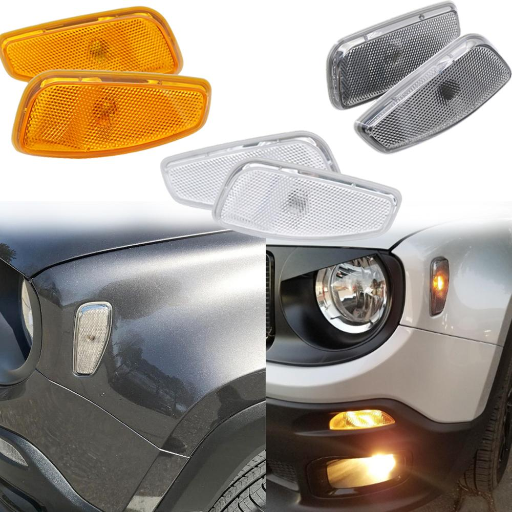 2019 For Jeep Renegade Led Turn Signal Parking Lamp Cover For Jeep