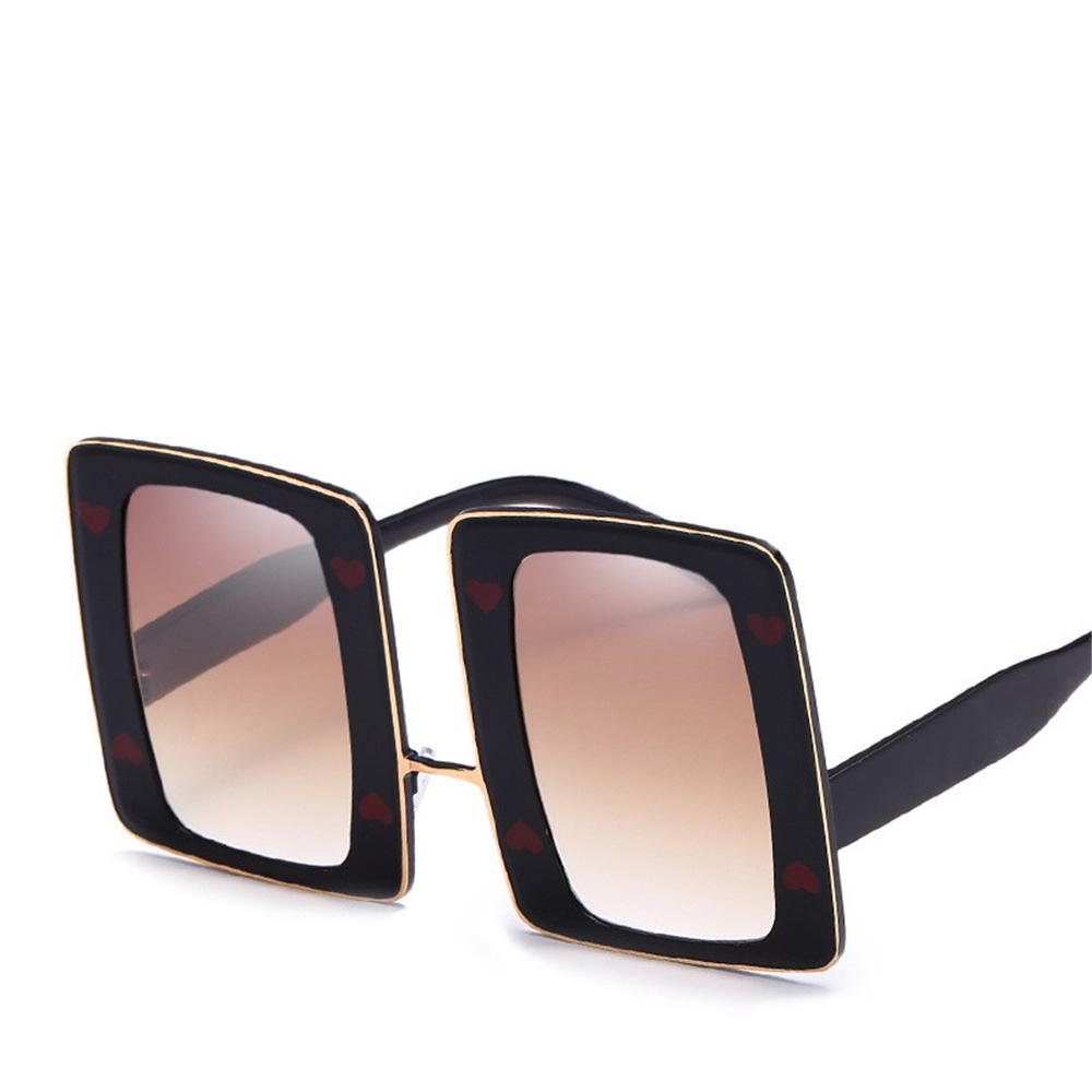 8c138c9fe10 2019 New Retro Square Sunglasses PC+Metal Full Frame Luxury Eyewear High  Quality UV Protection Lens Big Sized Popular Shield Sunglasses Best  Sunglasses ...