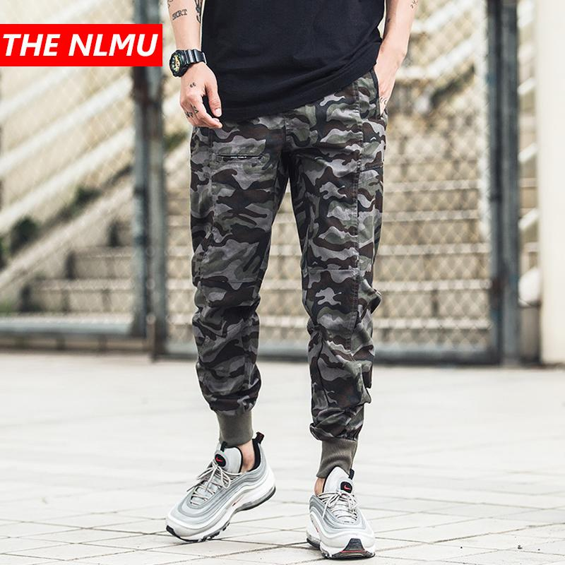 43243fd22e 2019 Men Elastic Waist Camouflage Harem Joggers Pants Men Streetwear Punk  Hip Hop Casual Trousers Male Tactical Cargo Pants WG142 From Merrylily, ...