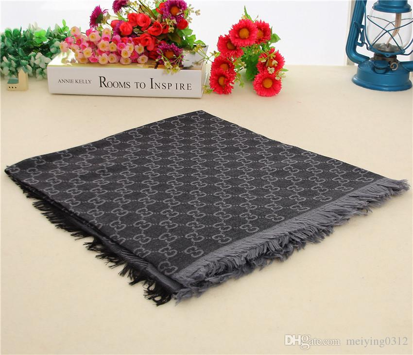 Hot Sale Women Scarf wool Silk fashion square brand Scarves Women Design woman Shawls Size 140*140cm without box TU77a