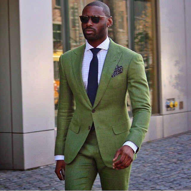 Anzüge jacke + Pants Hohe Qualität Dunkelgrün Herren Anzüge Bräutigam Smoking Groomsmen Hochzeit Abendessen Best Man Anzüge Herrenbekleidung & Zubehör