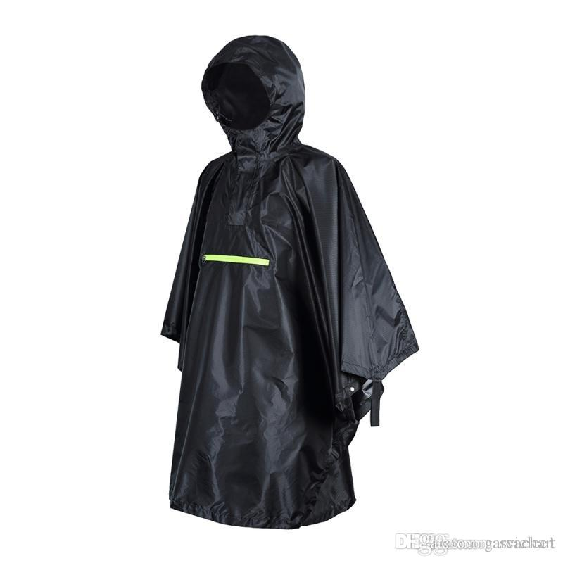 682a7b383 2019 Outdoor Tools For Rain Waterproof Wear With Reflective Stripe Women  Men Cloak Riding Fishing Poncho Camping Tour Rain Gear NY098 From  Garvielee1