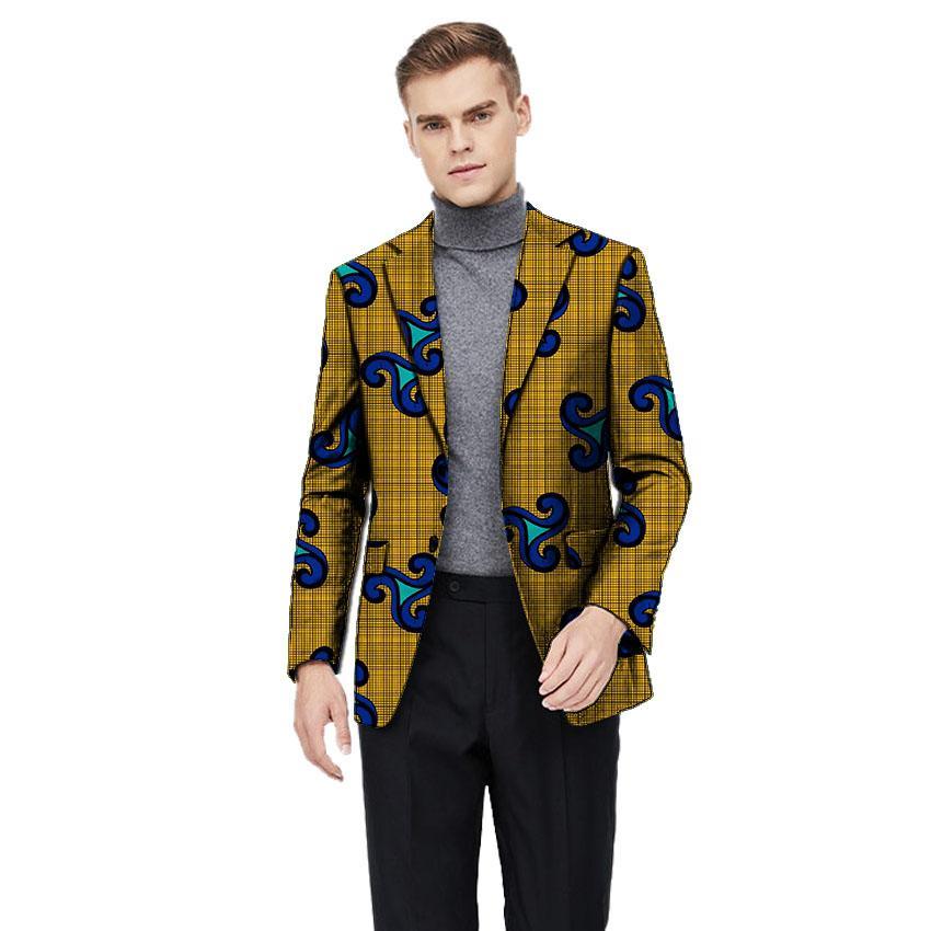 buy popular aa740 3147d Afrikanische Kleidung Herren-Blazer im Ankara-Stil für Jacken für Männer  und Männer