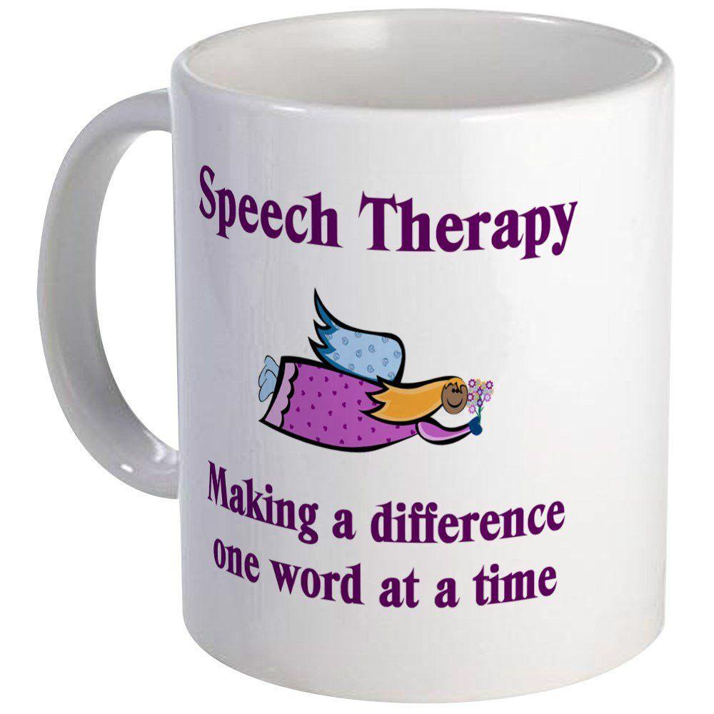 f111342ec95 Speech Therapy Mug - Unique Coffee Mug, Coffee Cup, Tea Cup