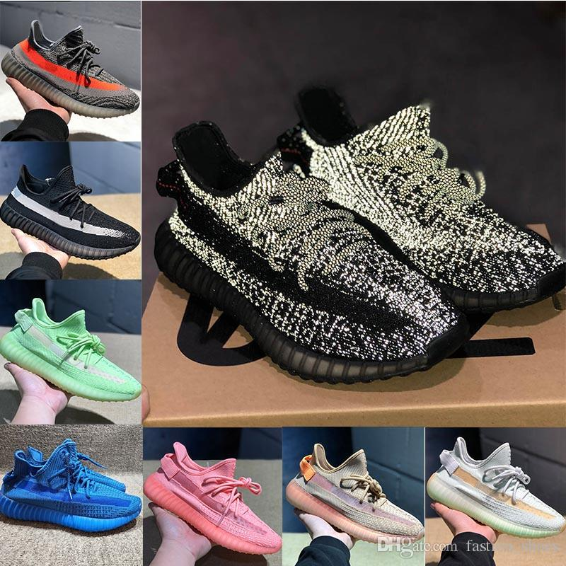 big sale f950b 844cf 2019 adidas yeezy sply 350 v2 boost 350s Kanye West Reflective 3M Zebra  Vans Asics OFF WHITE Mens Das Mulheres Designer De Marca De Luxo Esportes  ...
