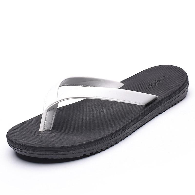 b97a6e92209b Summer Flip Flops Men S Tide 2019 New Fashion Outside Wearing Beach Shoes  Personality Non Slip Feet Casual Men S Slippers UK 2019 From Chingkee