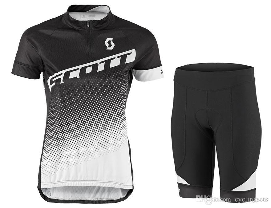 Cycling Jersey 2018 Scott Women Quick Dry MTB Bicycle Short Sleeve ... 465b9c507