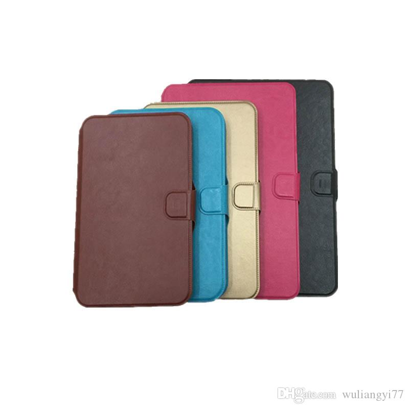 6 7 8 9 10 inch flat case Soft TPU universal protective cover tablet universal pu leather case for Digma Optima 1022N 1023N