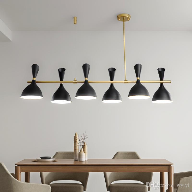 Lights & Lighting Modern Led Chandelier Nordic Pendant Lamps Novelty Lighting Fixtures Living Room Suspension Luminaire Restaurant Hanging Lights