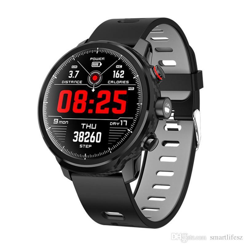 49118526bd96 Mejor Reloj Inteligente L5 Reloj Inteligente Hombres A Prueba De Agua Reloj  Inteligente Bluetooth Android Pulsera Recordatorio De Llamada Frecuencia ...
