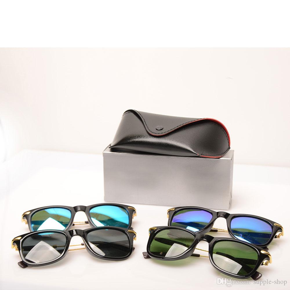2148 Fashion Mens Sun glasses Womens Brand Designer sun glasses mens sunglasses beach pilot glasses New Brand Sunglasses with cases and boxs