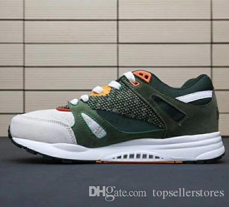 6db8236cc34a4 Fashion Casual Shoes Men Black Green Classic Ventilator Mesh Neutral ...