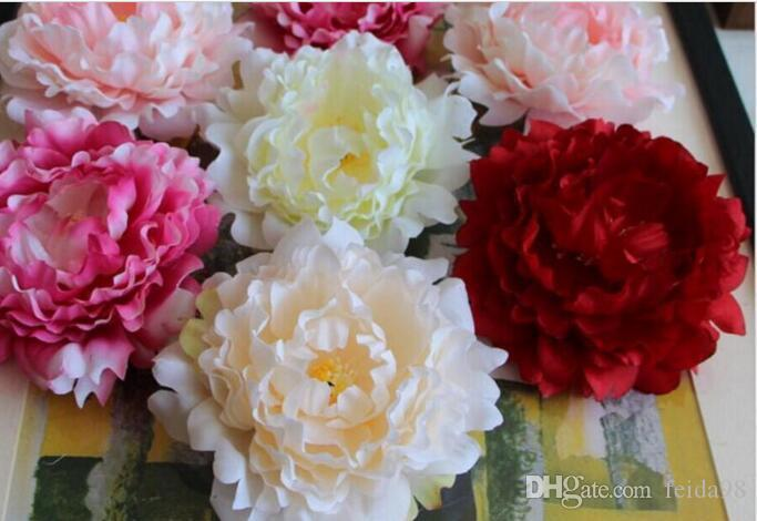 2020 The peony flowers flower simulation flower heads silk bouquet flow hat special flower arch L051