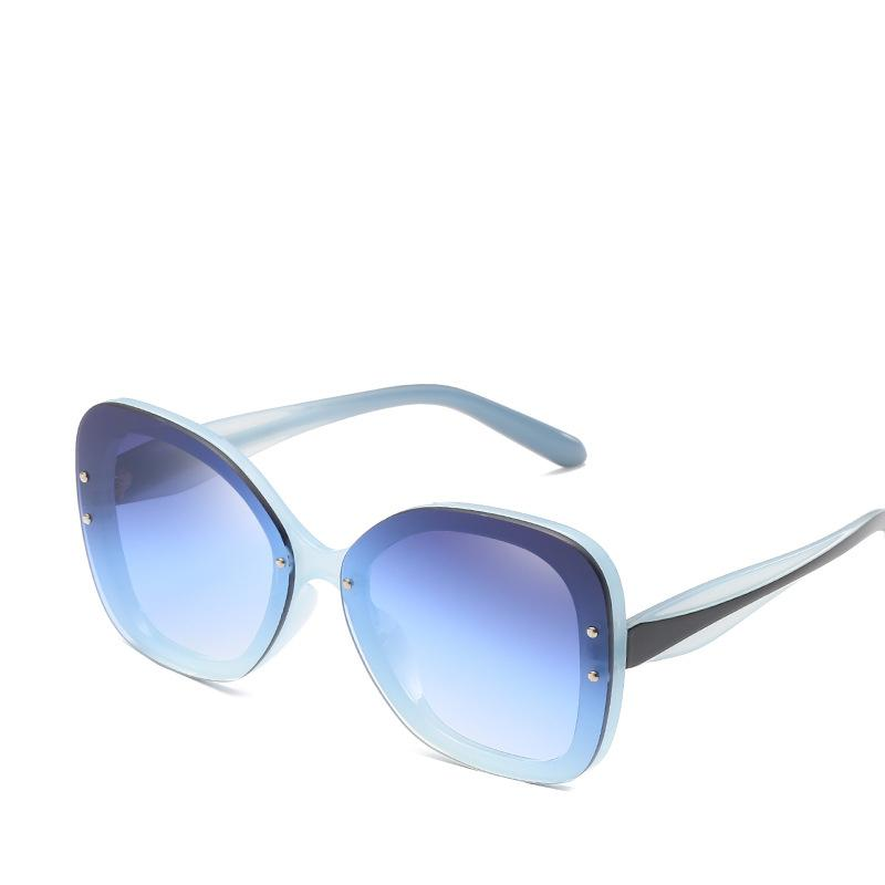 866e82d444e07 2019 New Women Popular Sunglasses Good Quality UV Protection Fashion Brand Glasses  Designer Square Eyewear Elegant Big Size Shade Sunglasses Cheap ...