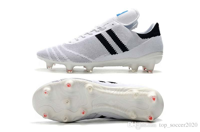 af4707d0a3b 2019 Original Best Quality Primeknit Black White Copa 70Y FG Soccer Shoes  Mens Football Boots Outdoor FG Soccer Cleats Sneakers From Top soccer2020