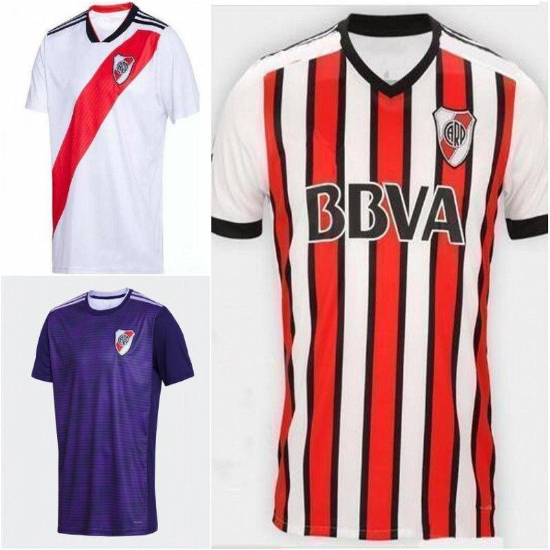 Camiseta De Fútbol River Plate 2019 MAIDANA 22 PINOLA 3 SARACCHI Uniforme  De Fútbol Local 29 MONTIEL 23 PONZIO 10 MARTINEZ Tercera Camiseta De Fútbol  Por ... 79a6c707ff750