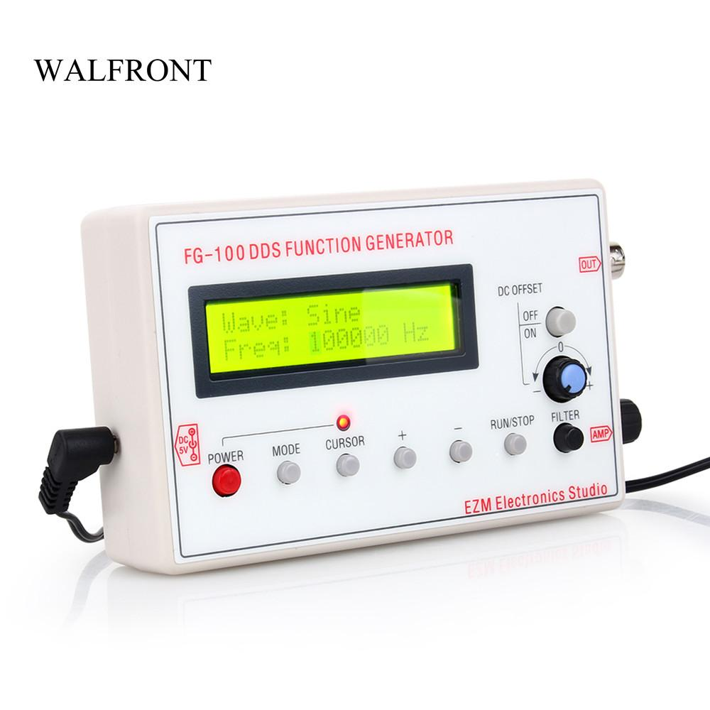 Freeshipping DDS Function Signal Generator Frequency Meter Arbitrary  Digital Dual-channel Pulse Waveform Signal Generator Amplifier