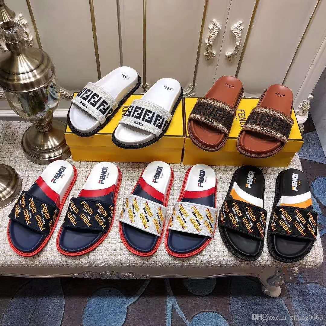 Chanclas Moda Deslizamiento Con Sandalias Mujeres Diseño Gruesas Hombres Resbaladiza Lujo Verano Zapatos Plana De Deslizante L45RjA