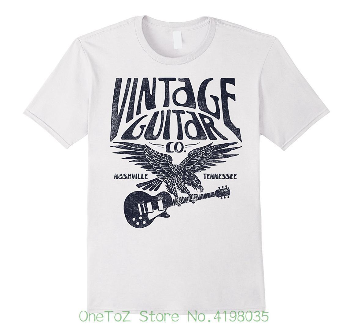88d1dbc4fb6 Vintage Guitar Company Nashville Tennessee Eagle T Shirt Pride Of ...