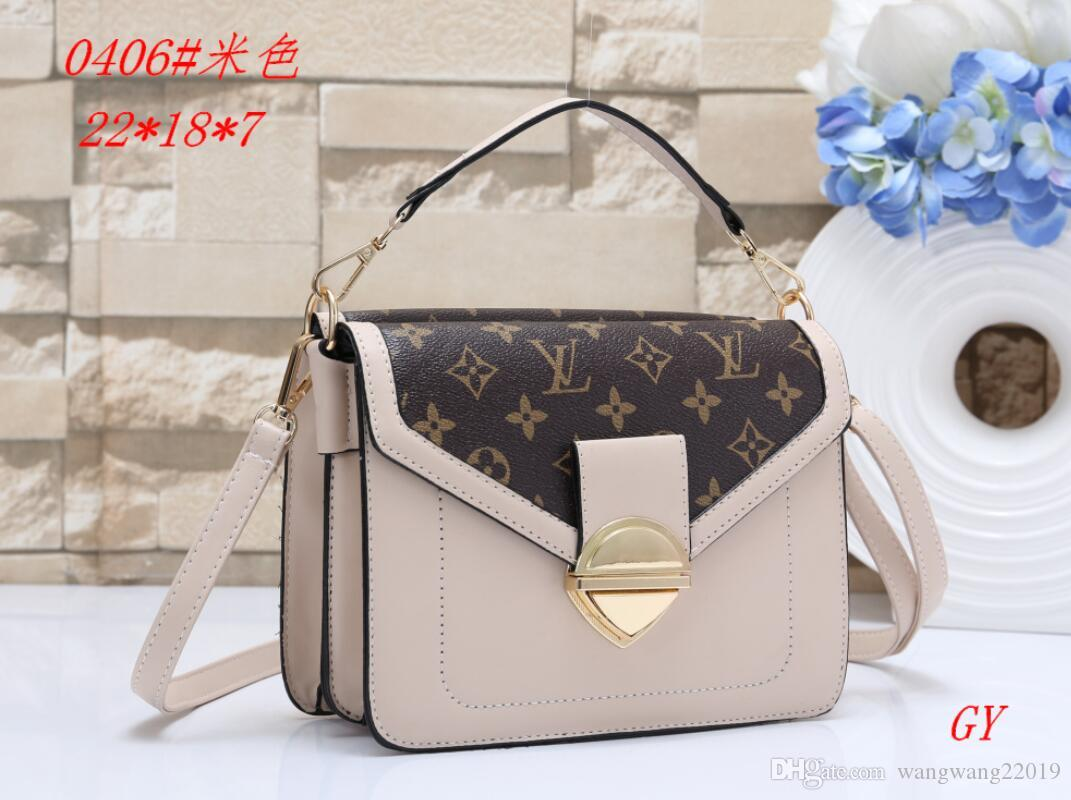Brand Female Bag Designer Handbag Backpack Fashion Women's Shoulder Bag Chain Backpack Brand Designer Luxury Handbag Wallet Women 8021-08