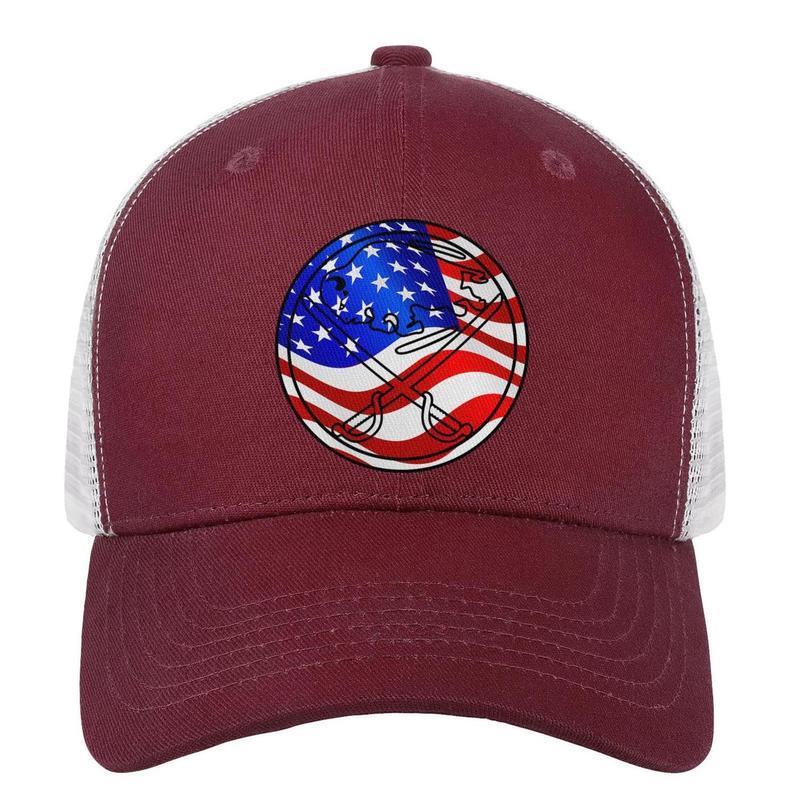 83755f4ba5da37 Buffalo Sabres Logo usa flag men's dad hat graphic adjustable women's  summer cap unique baseball cap mesh summer hats