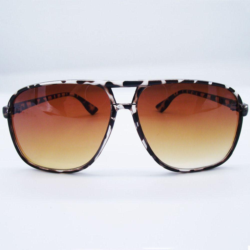 Moda Retro Sol Revestimiento Gafas De Mujer Templo Sg068 Marca Barato Leopardo VpGUqzMS