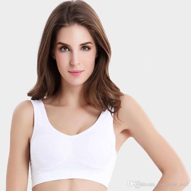 2f9ab36b35224 Top Quality Sexy Underwear Seamless Ladies Ahh Bra Sizes Sport Yoga Bra  Microfiber Pullover Bra Body Shape 6 Size Ahh Bra Sports Bra Yoga Bra Online  with ...