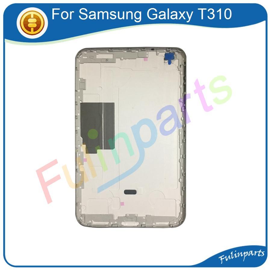 b1844af5811 Accesorio Para Celulares La Mejor Calidad Para Samsung Galaxy Tab 3 8.0  T310 T311 Volver Cubierta De Batería Puerta Trasera Caja De Reemplazo  Piezas Con ...
