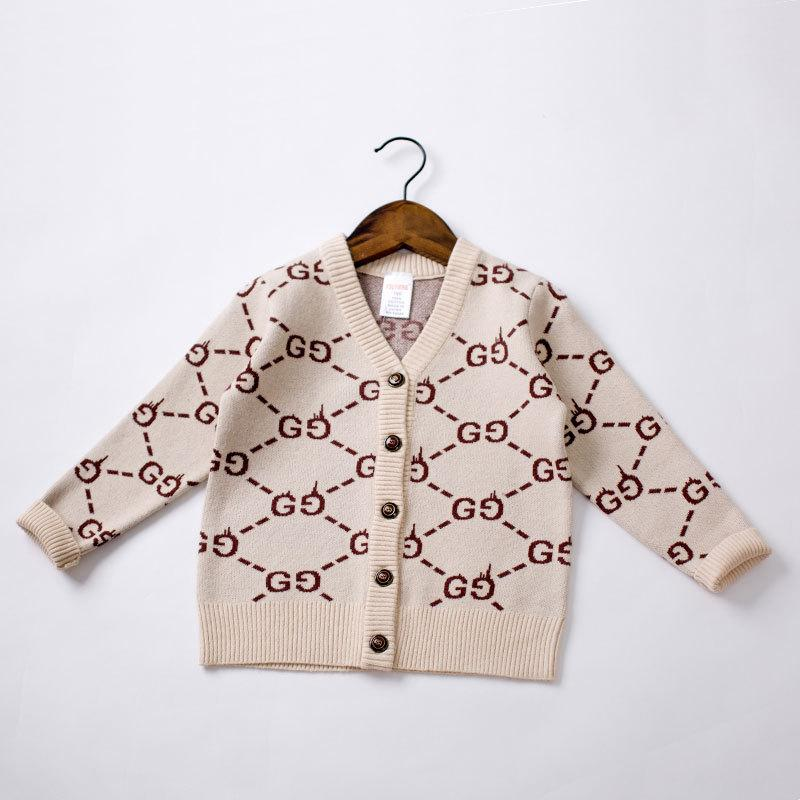 658daf00d617 Children Printing Pure Cotton Knitting Sweater Hundred And Up Money ...