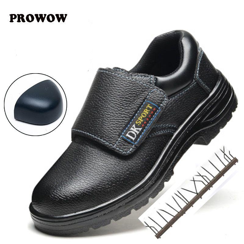 cfa1eeb5dad90e Prowow Work Boots Construction Men'S Outdoor Steel Toe Shoes Men'S ...