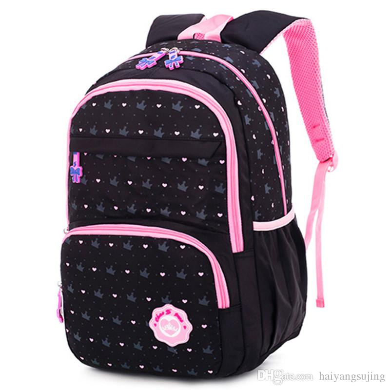 375ff6bfccf Children Baby Teens Book Bag School Backpack Lovely Waterproof School Bags  for Girls Orthopedic Backpacks Kid Student laptop Schoolbag