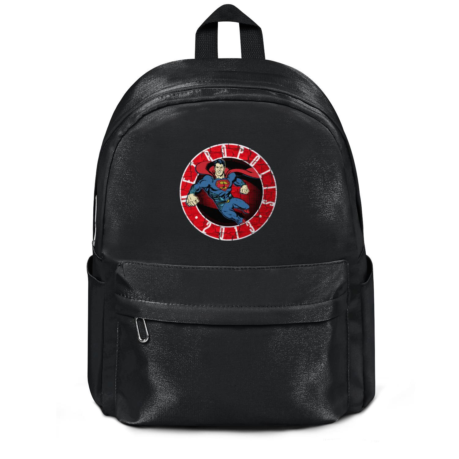 Package,backpack Supes 75th Metropolis 2013 GeekSummit Superman celebration black fashion personalizedpackage convenient sports athleticback