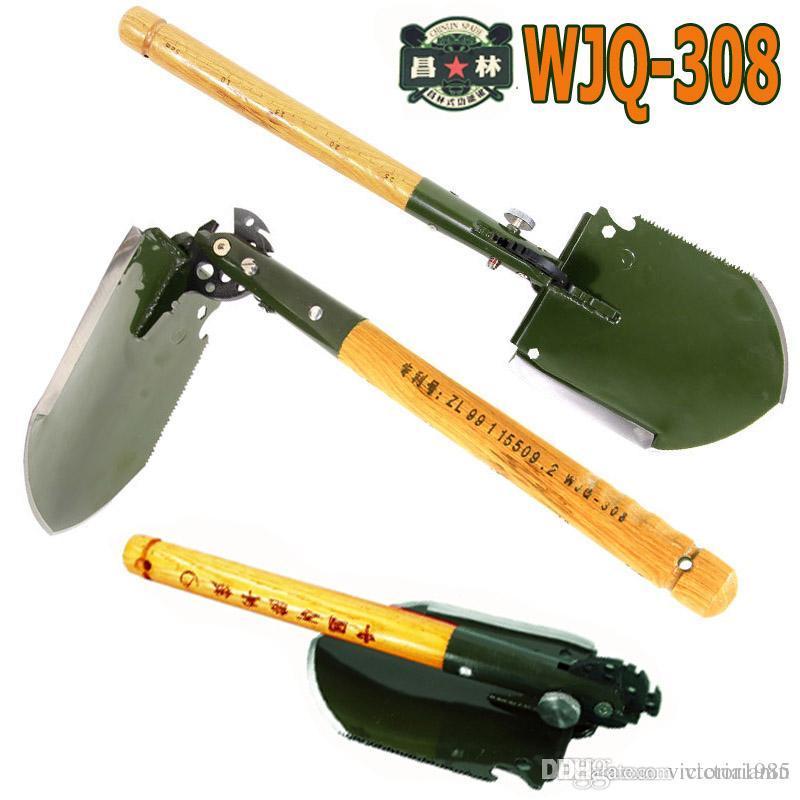 Multifunctional Folding Military Shovel Survival Spade Outdoor Camping Hunting