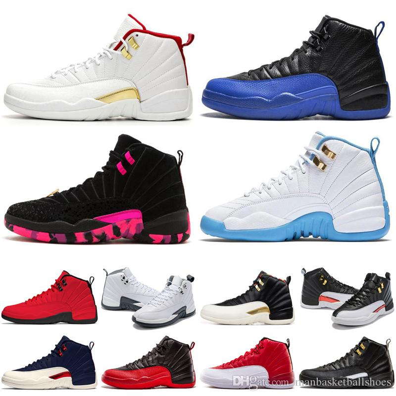 2019 Designer Man Basketball Shoes 12 12s Fiba Bulls Gym