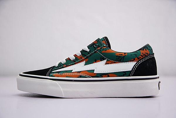 Commercio all'ingrosso NEW Revenge x Storm Sneakers Pop up Store Top Quality Old Skool Off Fashion Griglia Uomini Skateboard Vulcanized Ins Canvas Shoes