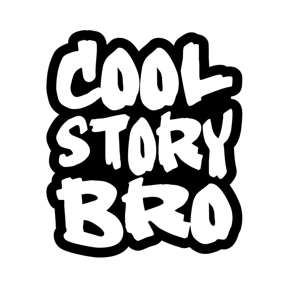 2019 cool story brothers sticker fun racing drift jdm fresh bumper fun vinyl packaging personality decal from xymy767 1 41 dhgate com