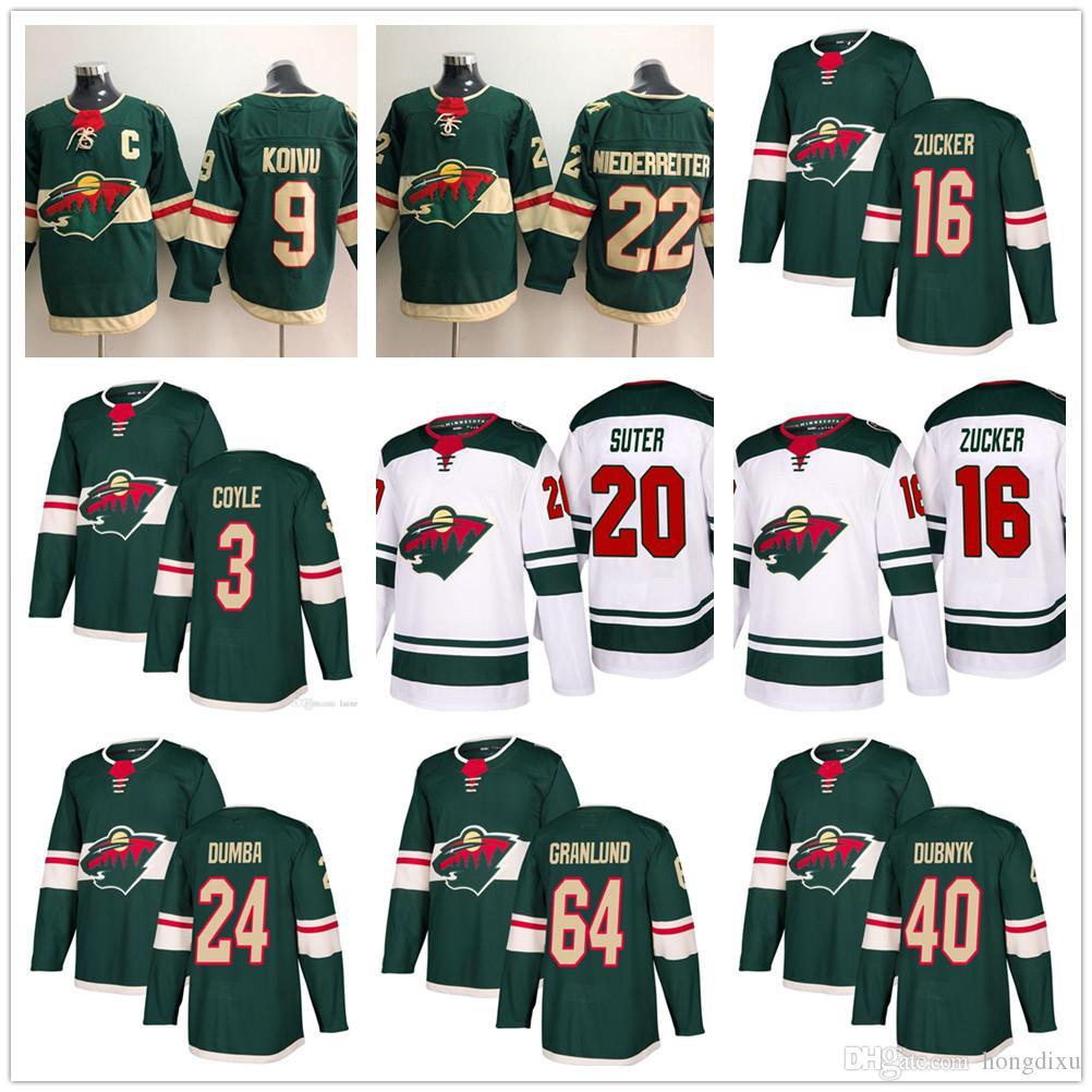 067e17c5a 2018 New Mens Cheap Hockey Minnesota Wild 11 Zach Parise 16 Jason ...