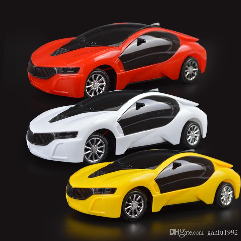 Simulated Racing Car 2 Channel 1:20 3D Remote Control Cars LED Lighting Children Toys Model Best Sellers 13 5bd N1