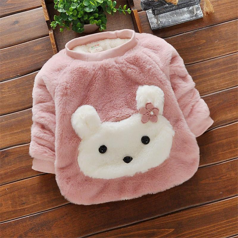 e347242ba Good Quality Baby Girls Sweaters Winter Warm Clothing Cotton Cartoon ...