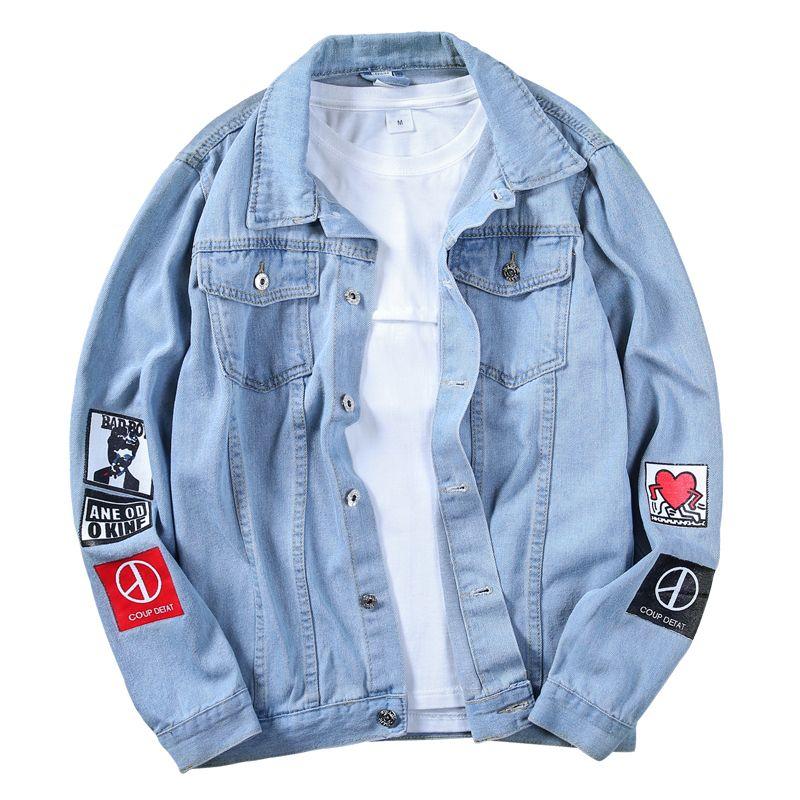 ea01a9c3034 Brand New Top Quality Denim Jackets Men Cowboy Slim Fit Bomber ...