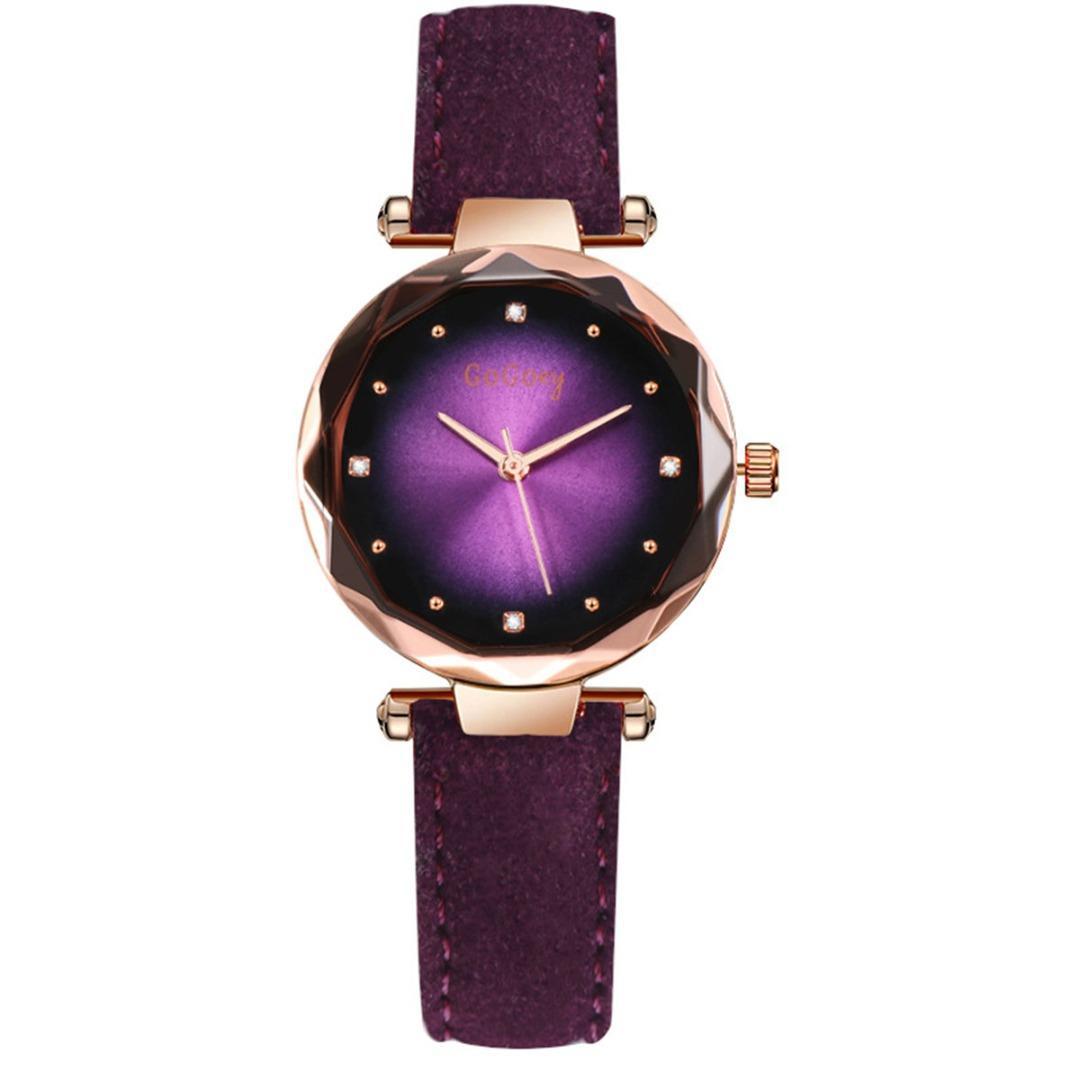 99cb3698a974 Compre Cristal De Shellhard Relojes De Mujer Moda Prismático Aleación  Analógica Reloj De Pulsera De Cuarzo Elegante Vestido De Damas Relojes De  Cuero De PU ...