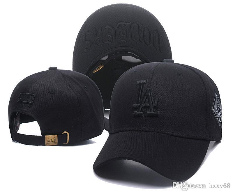 8a27a8790b585 New Arrival Top Sale LA Baseball Fitted Hats Mens