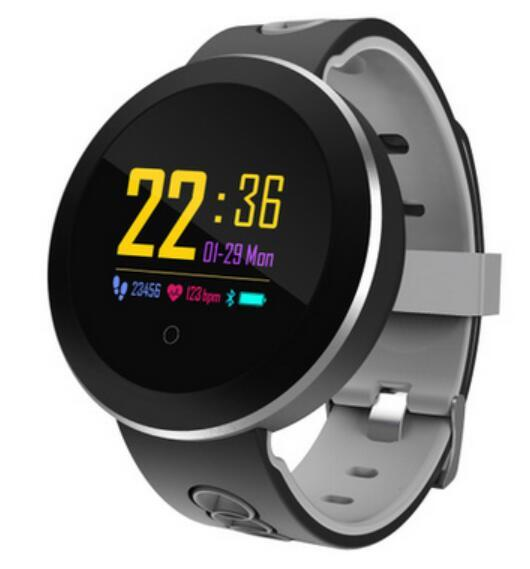Color Q8 Pro Smart Band Support Heart Rate Blood Pressure oxygen Monitor IP68 Waterproof fitness tracker smart bracelet watch