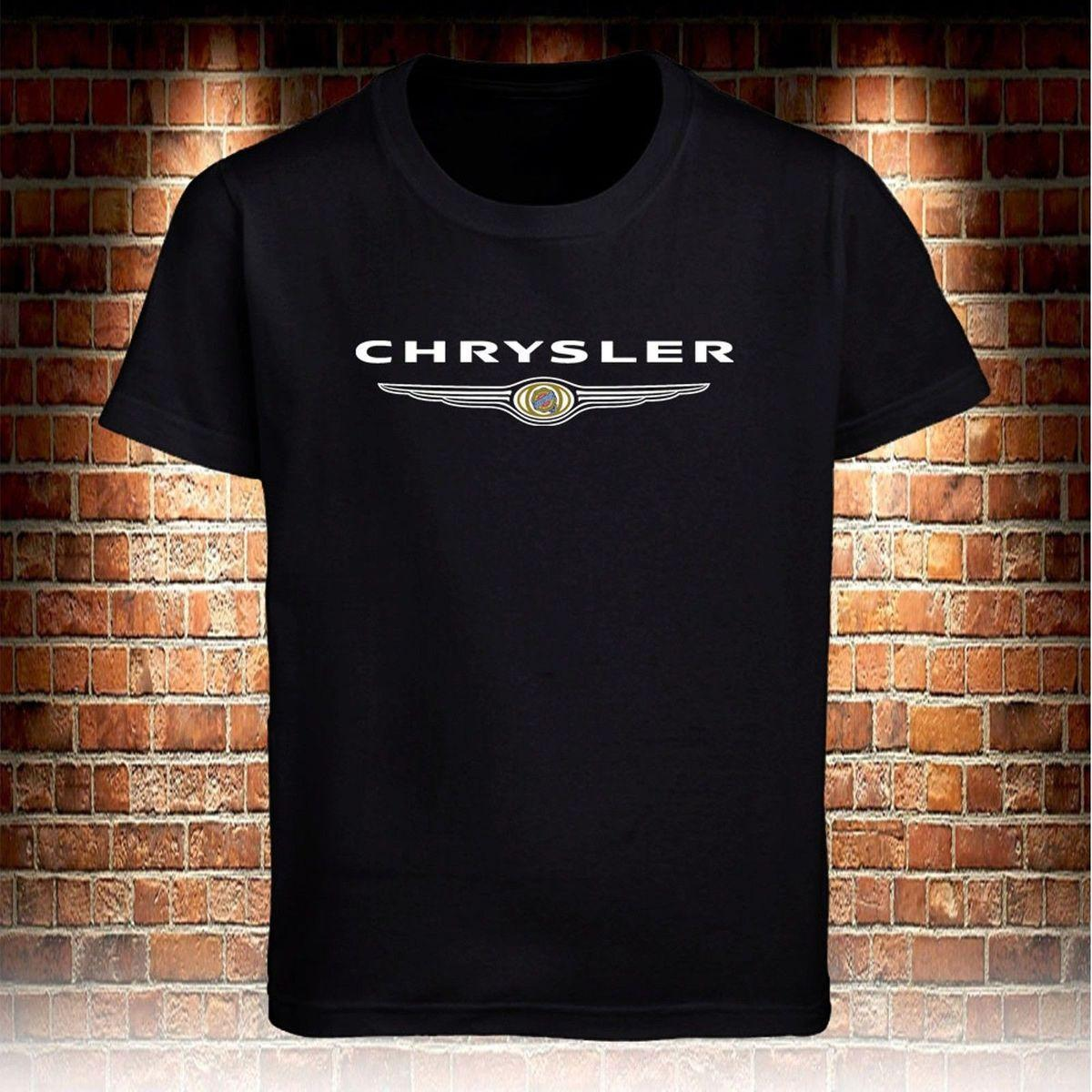 5c85e02a152b Black T-Shirt Chrysler Truck Men's T shirt S to 3XL Cotton Low Price Top Tee  For Teen Boys Homme High Quality