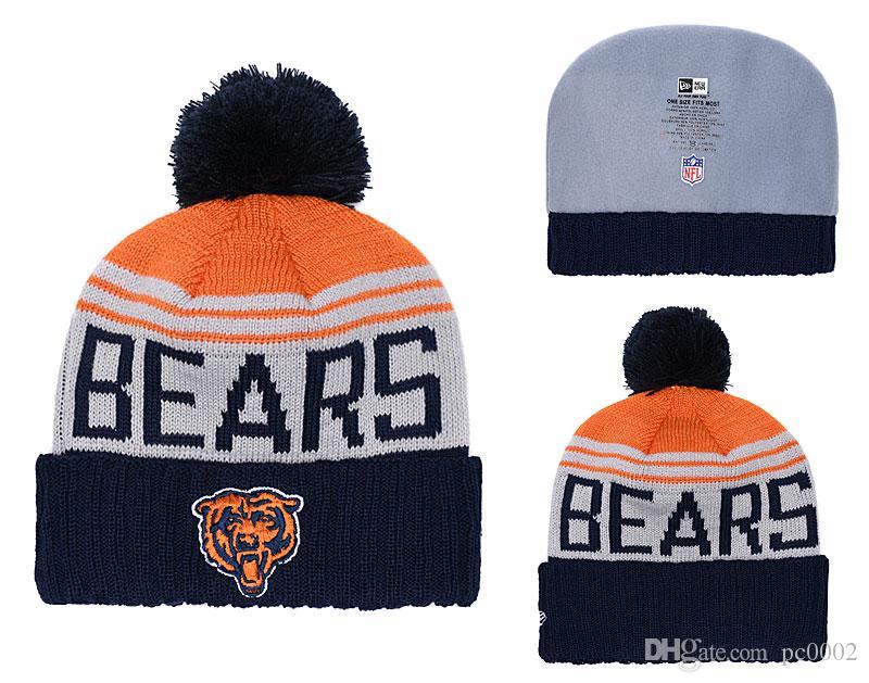 5452711ebab Men s Chicago Bears Biggest Fan 2.0 Cuffed Knit Hat Navy ...